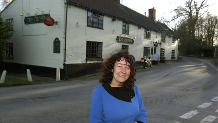 Jeanette Feneron, owner of the Banningham Crown. Pic: Archant