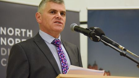 Steve Blatch, chief executive of North Norfolk District Council, which has agreed a new manangement