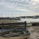 Southwold Harbour, where two men were caught people smuggling Picture: MICHAEL STEWARD