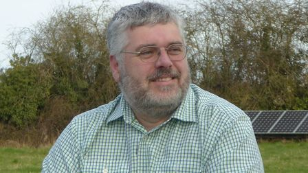 Timothy Birt, Green Party councillor for Saham Toney on Breckland Council. Pic: Green Party.