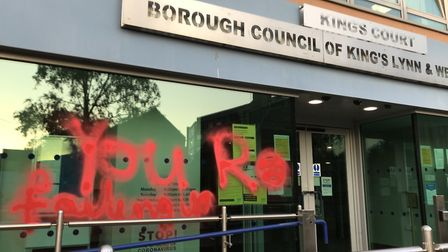 An environmental activist group which defaced council buildings to protest inaction on climate chang