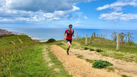 Ash Gilbert on his way to a new personal best at the Nottingham Robin Hood 100 mile race. Picture: A