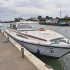 The boat which was involved in an incident on the River Bure near Clink Hill. Byline: Sonya Duncan (