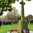 St Ethelberts Church in East Wretham hold their remembrance ceremony.