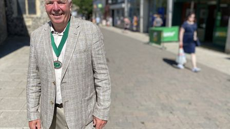 Thetford Town Councillor for the Castle Ward, Roy Brame. Photo: Emily Thomson