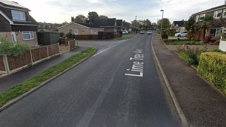 The junction of Lime Tree Avenue and Ashleigh Gardens in Wymondham, where the attack took place. Pic