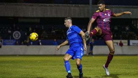 Jake Reed is Lowestoft Town's star man up front. Picture: Shirley D Whitlow