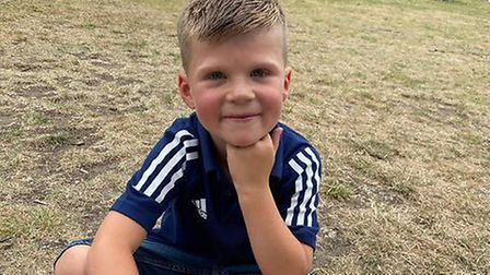 Alfie Brewster, whose family stuggled to get him an emergency dentist appointment. Picture: Michelle