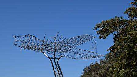 The Home Safe sculpture in North Norfolk (C) Laura Blake Photography