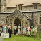 People at Beighton Church, which has undergone a lsrgd restoration project. Picture: Beighton Church