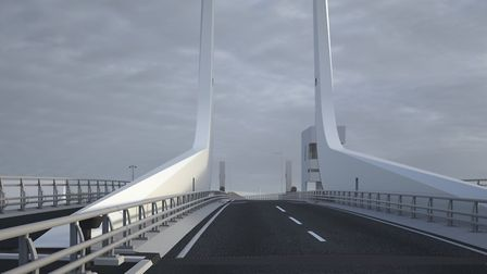 Visualisations of the Lake Lothing Third Crossing. PHOTO: Suffolk County Council