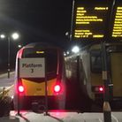 Rail services have been cancelled due to trees brought down by high winds. Picture: Andrew Papworth