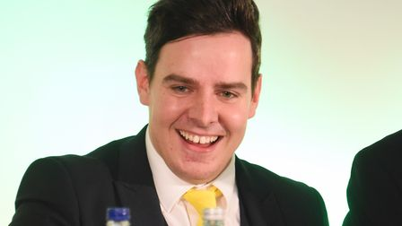 The Norwich City Football Club AGM. Ben Dack. Picture: DENISE BRADLEY