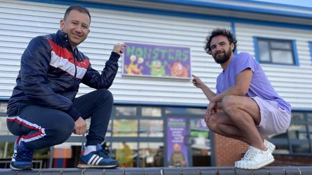 Monsters soft play area in Diss could reopen under new owners, Hanner Rubio and Adam Lenoard. Photo:
