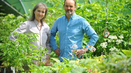 Jim Paine and Clare Billington run The Walnut Tree Garden Nursery in Rocklands. They will be one of