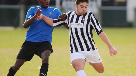 Dereham Education and Soccer Academy players, like the one right, have been tipped for great things