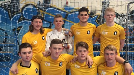 DESA won the 2015 ECFA National Futsal Championships. Picture: SUBMITTED