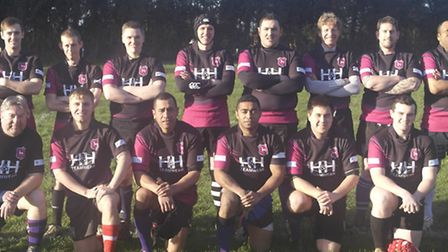 The players who turned out for the reformed Dereham second team on Saturday. Picture: KIRSTY DREW
