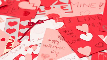 Send your Valentine a message and show how much you care