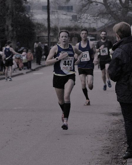 Charlotte Neale in action for Beach Runners,
