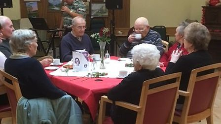 Valentines lunch at Dereham's Meeting Point. Picture: Shonette Mooney