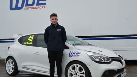 Dan Zelos aims to climb the Clio Cup grid after joining WDE Motorsport for sophomore season. Picture