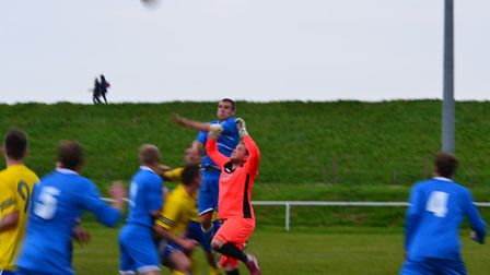 Wells Town's proud unbeaten league run came to ane end on Saturday. Picture: WELLS FC