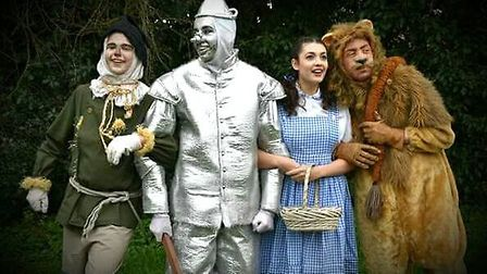 Dereham Youth Theatre Group is performing Wizard of Oz. Costumes provided by Dereham Theatre Costume