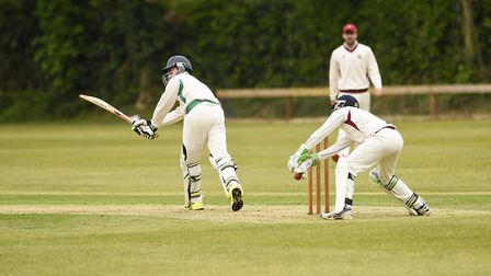 Jake Anema scored an important 26 for Dereham - but his main contribution was with the ball. Picture
