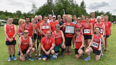 Dereham Runners were well represented at Skeyton at the weekend. Picture: Dereham Runners AC