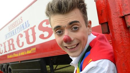 Alex the Clown is performing at the Wayland Festival. Picture: MARK BULLIMORE