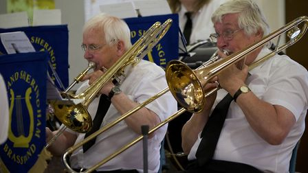Cromer and Sheringham Brass Band. Picture: MARK BULLIMORE