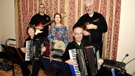 Barley Mow ceilidh band will be at Great Witchingham village hall.