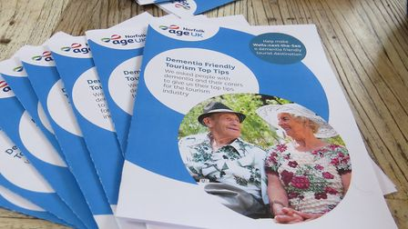 A leaflet full of dementia friendly tips for bed and breakfasts in Wells has been launched this mont