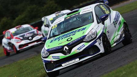 Dan Zelos fights through the field at Croft. Picture: Russell Atkins