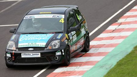 James Hillery contesting the Fiesta Junior Championship. Picture: James Roberts