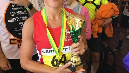 Dereham Runners AC's Luise Juby. Picture: James Nice