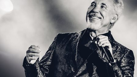Tom Jones, the legend. Picture: Supplied
