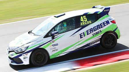Dan Zelos in full flight at Snetterton at the weekend. Picture: Russell Atkins