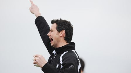 Dereham Town manager Neal Simmons. Picture: Ian Burt