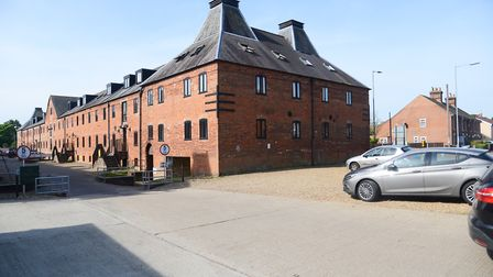 The Maltings in Dereham, where police carried out a drugs raid. Photo: Ian Burt