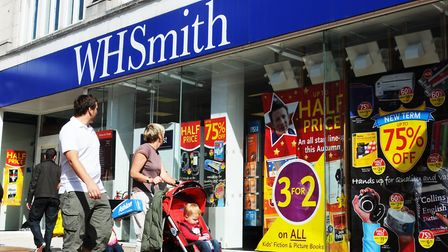 Image of a WHSmith store on a high street. Picture: WHSmith