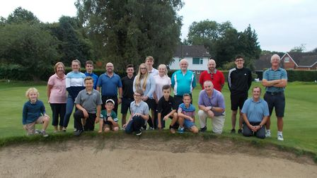 All the juniors and helpers who participated in the final Monday Club event of the season at Dereham