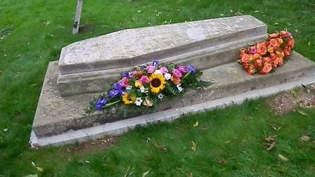 Robert Howlett's grave was rededicated after its restoration in a ceremony held on Saturday, October