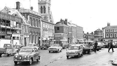 Dereham Market Place in 1965. Picture: Archant Library