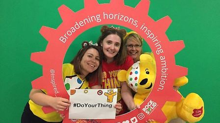 (L-R): Melissa Dunning, project delivery manager; Jenna Rich, marketing manager; and Natalie Davies,