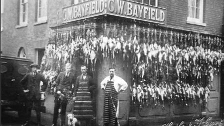 The old Bayfields Butchers. Picture: Gordon Olley archive