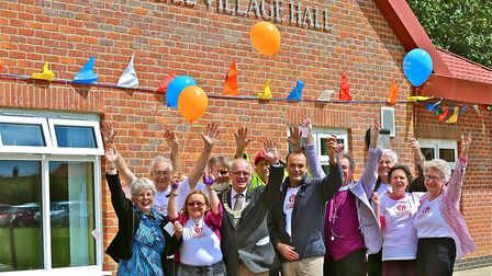 Scenes from the Bawdeswell Village Hall opening weekend in 2015: Photo: Archant