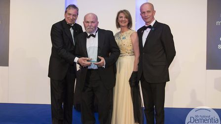Graham Mason, a resident at Bilney Hall care home, has won an award at the National Dementia Care Aw