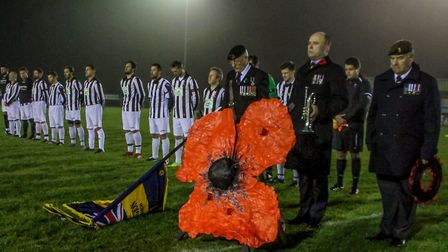 The match was between a team of Dereham 'Allstars' and a team from the 1st The Queen's Dragoon Guard